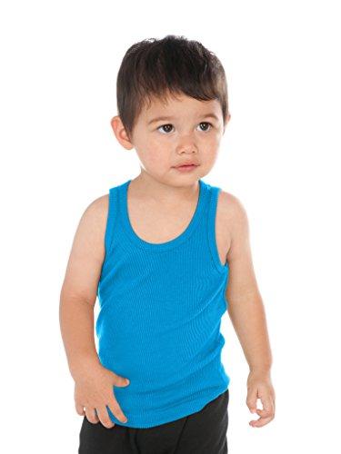(Kavio! Unisex Infants Beater Tank (Same I2C0236) Island Blue 12M)