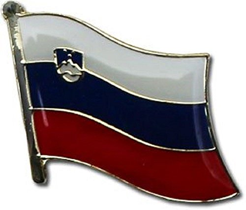 ALBATROS Pack of 50 Slovenia Country Flag Lapel Pin for Bike Hat and Cap for Home and Parades, Official Party, All Weather Indoors Outdoors