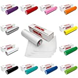 12 Pack of Oracal Glossy 12 Inches by 6 Feet Rolls - 12 Rolls of 651 Permanent Adhesive Vinyl (12 Rolls Vinyl Only)
