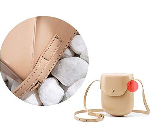 In Saddle Wild Messenger Pelle Tracolla A Pu Liyan Borsa Flip Bag Donna Mini Casual 4BqOnXw