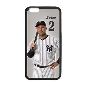 Onshop Derek Jeter New York Yankees Star Custom Phone Case Laser Technology for iPhone 6 Plus