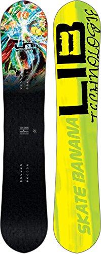 Lib Tech Banana - Lib Tech Sk8 Banana BTX Parillo Snowboard 2018 - 154cm
