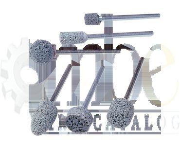1/8'' Shank - 1/4 x 1/2'' (W163) - Non-Woven Nylon Abrasive Mounted Point