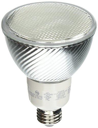 Fluorescent Par30 16 Watt Reflector (TCP PF301635K CFL PAR30 - 65 Watt Equivalent (16W) Bright White (3500K) PAR Flood Light Bulb)