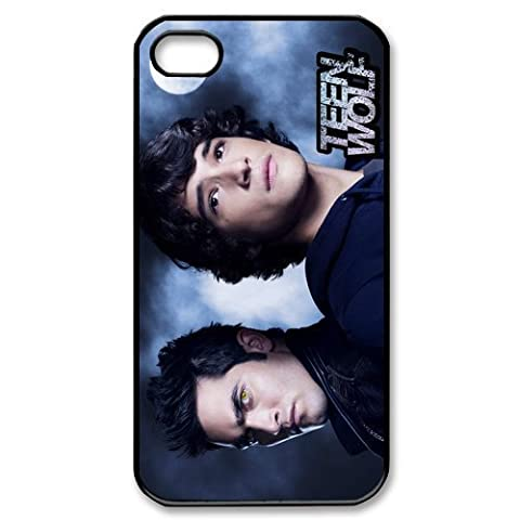 Unique & Personalized Pop TV series Teen Wolf theme hard black phone case cover for apple iPhone 4 4s at sun sky star (Teen Wolf Kindle Case)