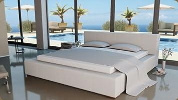 Lederbetten Polsterbett Designer Leder Bett Doppelbett Modell In