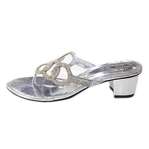 Wear & Walk UK - Sandalias de vestir de Material Sintético para mujer, color, talla 36.5