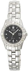 Citizen Women's EW1390-55E Eco-Drive Miramar Diamond Accented Stainless Steel Watch