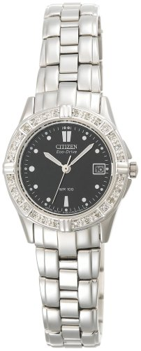 Citizen EW1390 55E Eco Drive Accented Stainless