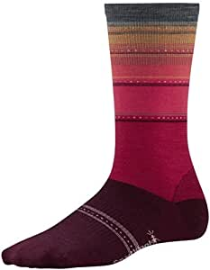 Smartwool–Calcetines de rayas de Célebes–AW15–Pequeño–Rojo Tamaño: Pequeño Color: Rojo, Modelo: bsw560527, Tools & hardware Store