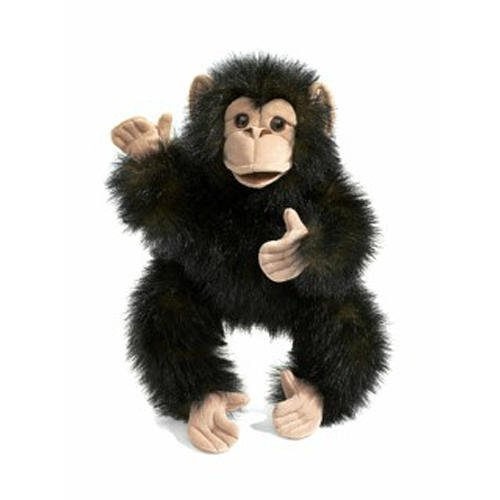 Adorable Chimpanzee Baby Puppet ()