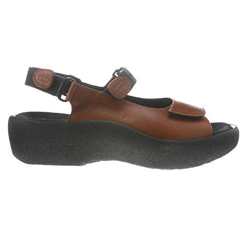 Wolky Komfort Sandaler Juvel Brandy Glatt Skinn ...