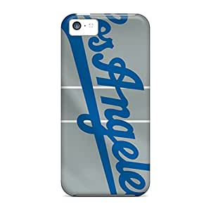 Snap-on Los Angeles Dodgers Cases Covers Skin Compatible With Iphone 5c