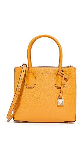 MICHAEL Michael Kors Women's Medium Mercer Messenger Bag, Marigold, One Size