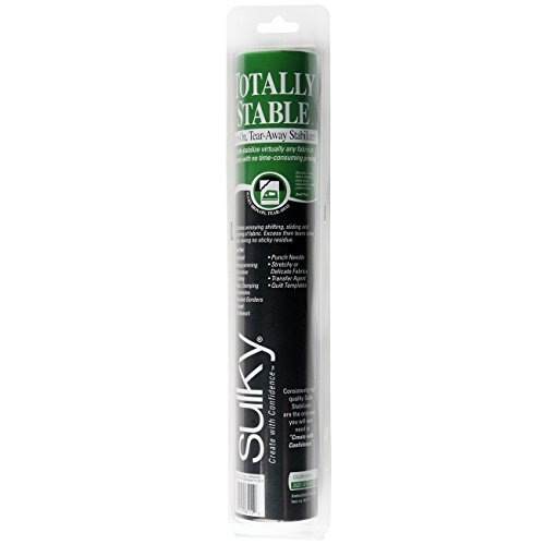 Sulky 12-Inch by 12-Yard Totally Stable Iron-On Tear-Away Stabilizer ()
