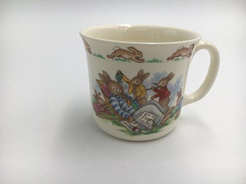 Edwin M Knowles China Company Royal Doulton Bunnykins Bunnykins - One Handled Mug Dad Sleeping 1036