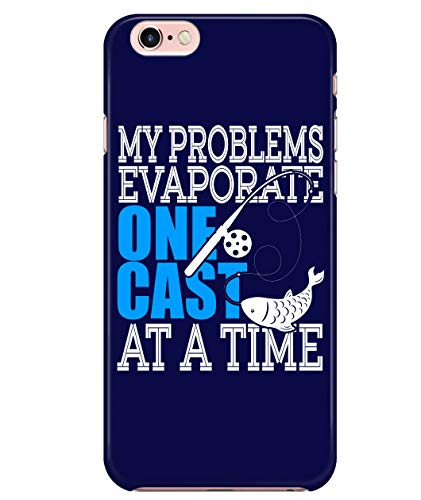 iPhone 7/7s/8 Case, Evaporate One Cast Case for Apple iPhone 7/7s/8, Fishing iPhone Case (iPhone 7/7s/8 Case - Navy)