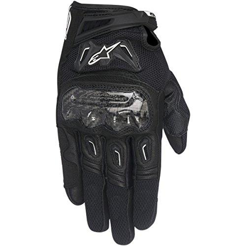 Alpinestars SMX-2 AC V2 Men's Street Motorcycle Gloves - Black / (Street Racing Motorcycle Gloves)