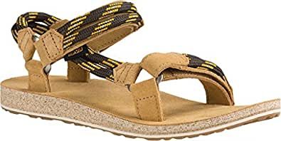 Teva Womens Original Universal Rope Sport Sandal,Black Olive,US 6 M