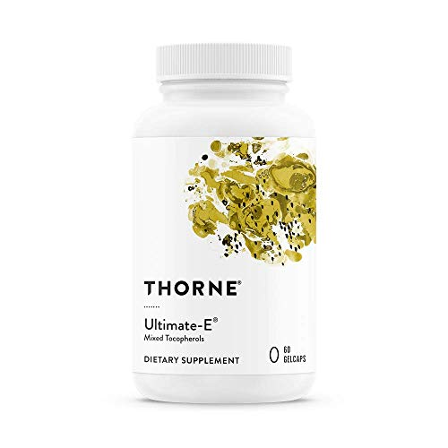 - Thorne Research - Ultimate-E - Contains All of The Natural Forms of Vitamin E - 60 Gelcaps