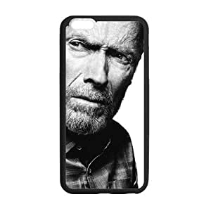 Onshop Clint Eastwood Pattern Custom Phone Case Laser Technology for iPhone 6 Plus