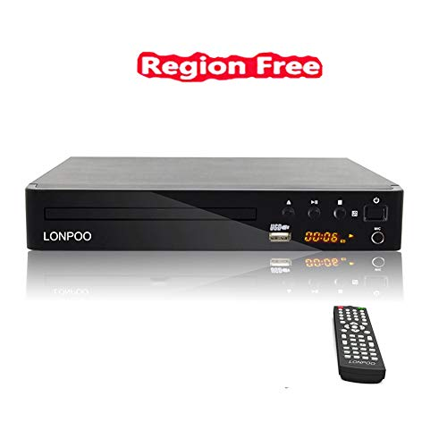All Multi Region Free Dvd Player For Tv Lonpoo Compact Cd