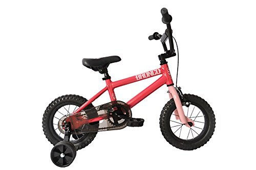 "SE Bicycles Bronco BMX Bicycle, Pink, 12"""