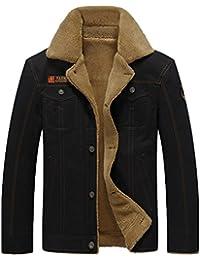 "<span class=""a-offscreen"">[Sponsored]</span>Men's Outdoors Fleece Windproof Jackets Coats"