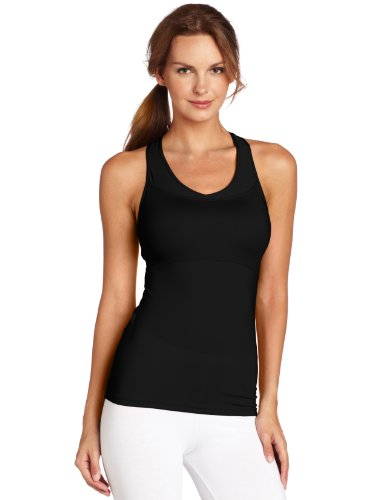 Russell Athletic Athletic Tank Top - Russell Athletic Women's Mid-Support Racerback Tank Top, Black, Large