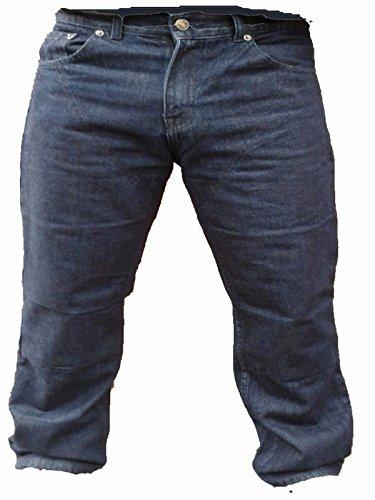Bikers Gear Australia - Jean de moto classique en Kevlar® - Bleu - EU 44 reg