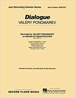 Delightful Amazon.com: Second Floor Music Dialogue (Quintet) Jazz Band Level 4 5  Composed By Valery Ponomarev (0073999005745): Second Floor Music: Books