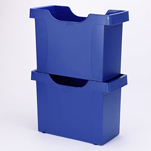 Archivio per cartelle sospese A4 colore: Blu Esselte Leitz 19080035 Uni-Box plus in polistirolo