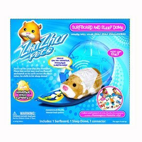 Zhu Zhu Pets Hamster Deluxe Accessory Kit Surfboard and Sleep - Surf Stroller