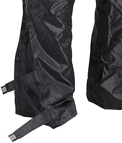 DG Pantalon de Pluie Taille Xl Noir
