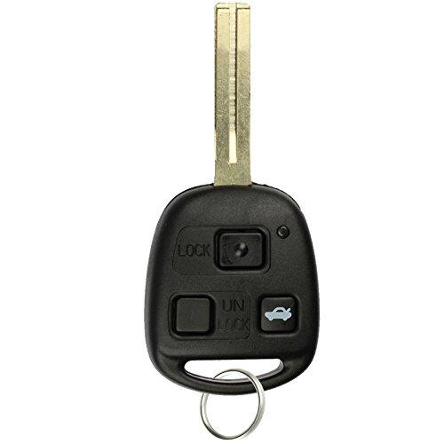 KeylessOption Keyless Entry Remote Control Car Key Fob Replacement for HYQ1512V