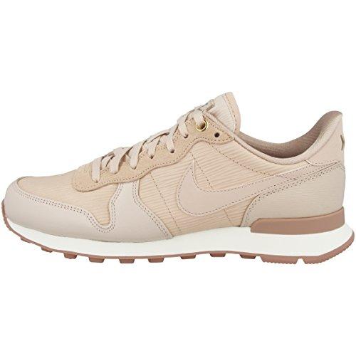 Nike Women W Internationalistisk Præmie Sneaker Beige (beige Partikel 202) hT6PNv14