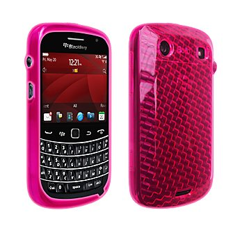 Blackberry 9930 9900 OEM Pink High Gloss Silicone Cover