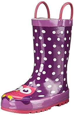 Amazon Com Western Chief Night Owl Rain Boot Toddler