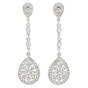 Giro Alloy Woman's Stone Earrings - G0094
