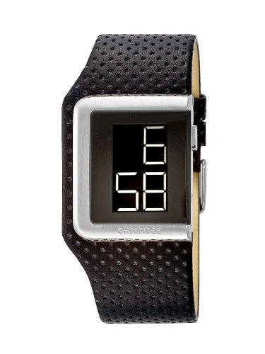Chiemsee CW-0011-LD - Reloj digital de mujer de cuarzo con correa de piel negra - sumergible a 30 metros: Amazon.es: Relojes