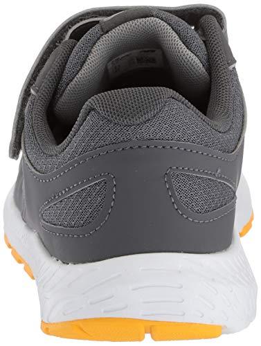 New Balance Boys' 519v1 Hook and Loop Running Shoe, Magnet/Phantom, 2 M US Infant by New Balance (Image #2)