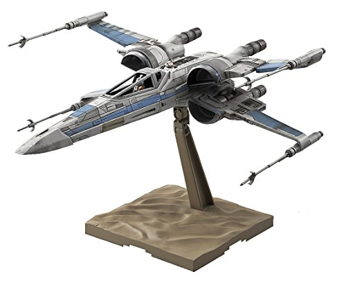 Download Bandai Star Wars 1/72 Scale X-Wing fighter Resistance Specifications Model