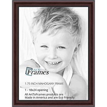 Amazon Com Arttoframes 18x24 Inch Mahogany And Burgundy