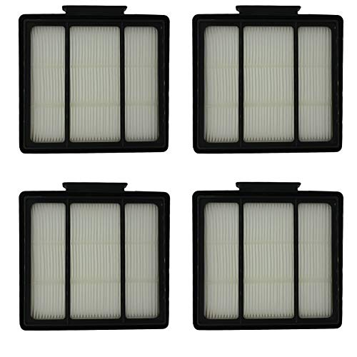 (HIHEPA 4-Pack Pre-Motor HEPA Filter Replacement for Shark ION Robot RV700_N RV720_N RV850 RV851WV RV850BRN/WV Vacuum Cleaner Part Fit # RVFFK950)