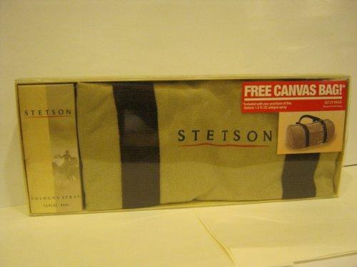 Stetson By Coty for Men, 2 Piece Gift Set - Stetson Cologne Spray 1.5 Fl Oz + Stetson Canvas Bag