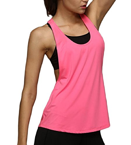 Tootess Women's Breathable Quick Drying Stretch Gym Fit Yoga Knit Camisole