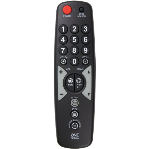 One For All OARH01B Single Device Universal Remote Control
