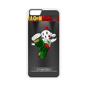 iPhone6s Plus 5.5 inch Phone Case White chiaotzu dragon ball z anime mobile wallpaper VMN8154944