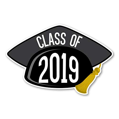 2019 Graduation Cap Black Magnet]()