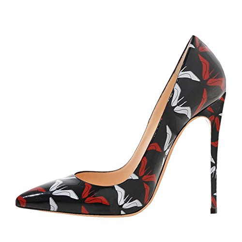 de Zapatos negro mujer de 46 MERUMOTE Sintético Material vestir para T7wxwaq